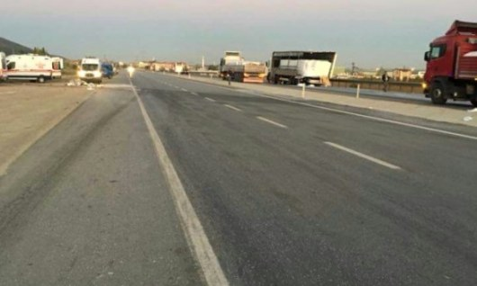 ВТурции автобус стуристами столкнулся с грузовым автомобилем
